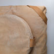 meditation cushion set naturally dyed sustainable organic cotton blush close up
